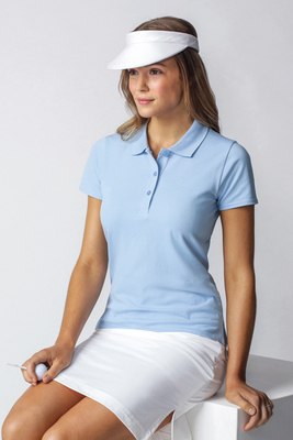 Glenmuir Sophie Shaped Fit Cotton Polo Golf Shirt