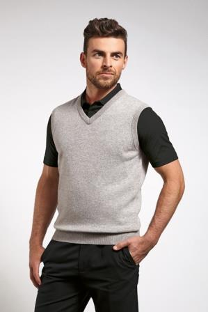 Glenmuir Windermere Lambswool Sleeveless Golf Slipover