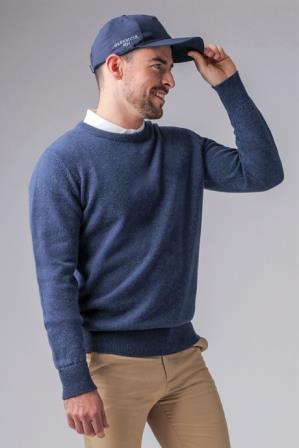 Glenmuir Morar Lambswool Round Crew Neck Golf Sweater