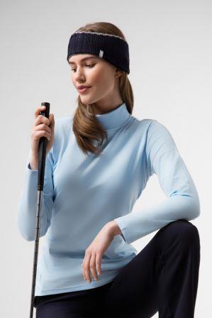 Glenmuir Hayley Shaped Fit Long Sleeve Cotton Golf Shirt