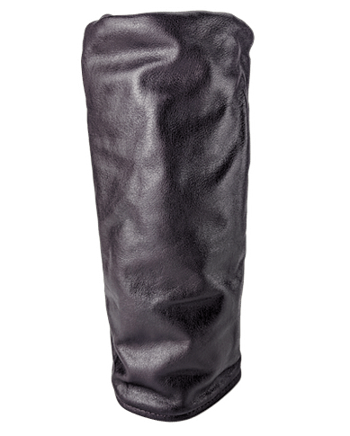 Babouche Maroon Leather Head Cover