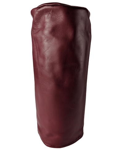 Oxblood Leather Head Cover