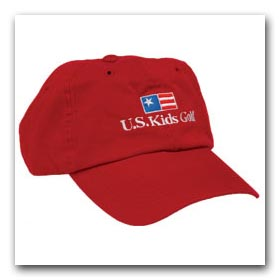 U.S.Kids Logo Golf Cap NEW