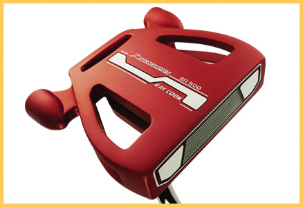 Ray Cook Silver Ray 500 Putter Red