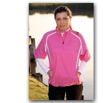 Glenmuir Storm Bloc Par Half Sleeve Golf Windshirt