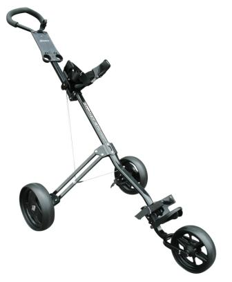 Masters 3 Series 3 Wheel PushTrolley-Black