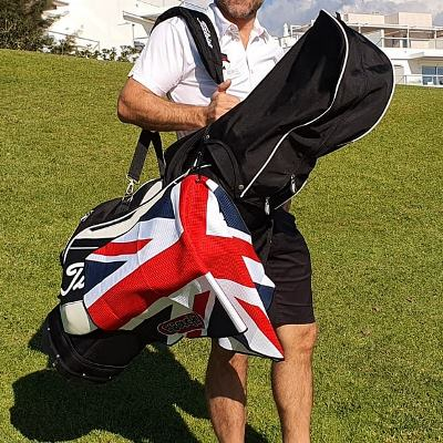 Babouche Union Jack Golf Towel
